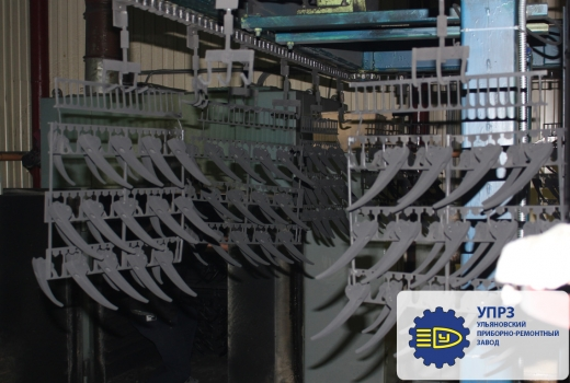 Conveyor to the drying chamber