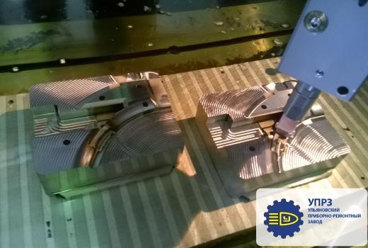 Обработка формообразующих на фрезерном станке с ЧПУ